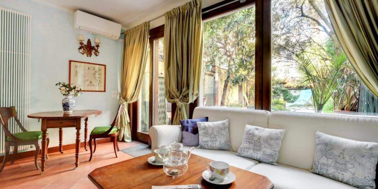 S. Croce introvabile appartamento con giardino e terrazza